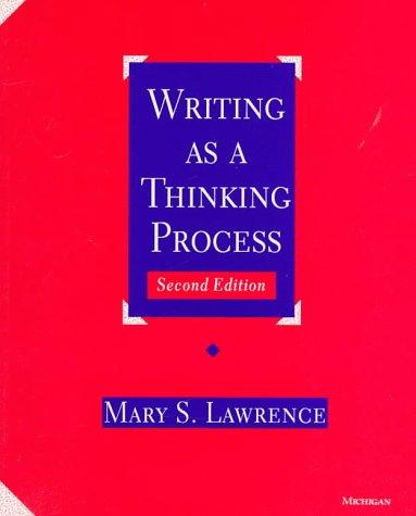 Download Writing as a thinking process