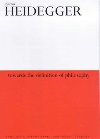 Download Towards the definition of philosophy