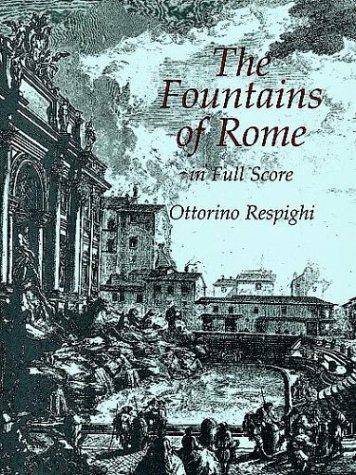 Image for The Fountains of Rome in Full Score (Dover Music Scores)