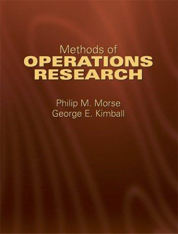 Download Methods of operations research