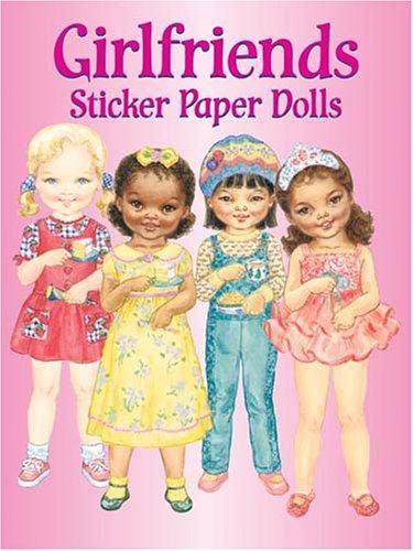 Download Girlfriends Sticker Paper Dolls