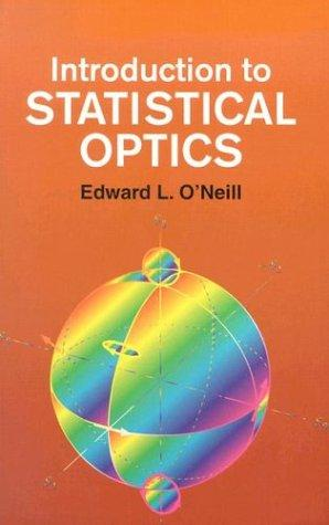 Download Introduction to statistical optics