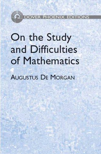 Download On the study and difficulties of mathematics