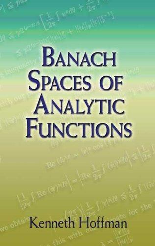 Download Banach Spaces of Analytic Functions