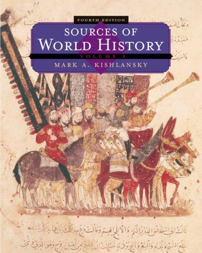 Sources of World History, Volume I (Sources of World History Vol. 1) by Mark A. Kishlansky