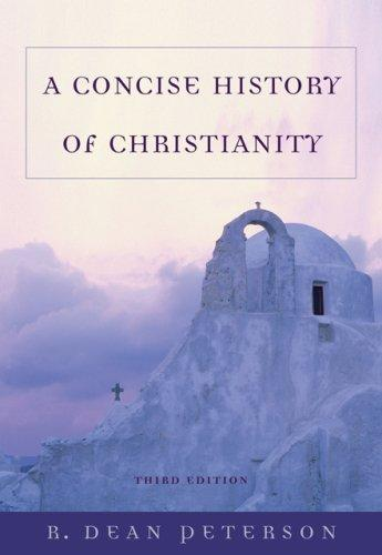 Download A Concise History of Christianity