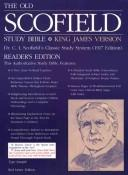 The Old ScofieldRG Study Bible, KJV, Standard Edition