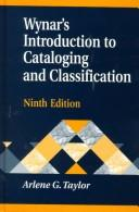 Download Wynar's introduction to cataloging and classification