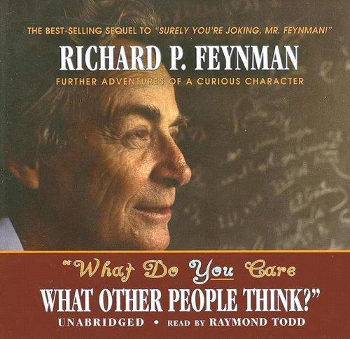 Download What Do You Care What Other People Think? (Library Edition)
