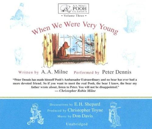 When We Were Very Young (Winnie-the-Pooh) (A. a. Milne's Pooh Classics)