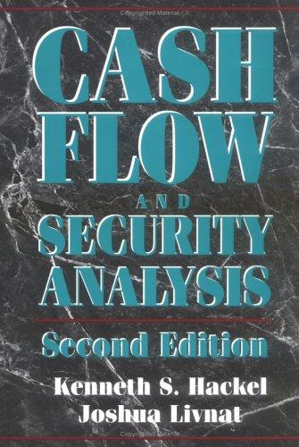 Download Cash flow and security analysis