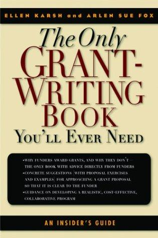 Download The only grant-writing book you'll ever need