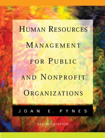 Download Human resources management for public and nonprofit organizations