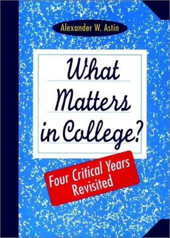 Download What Matters in College