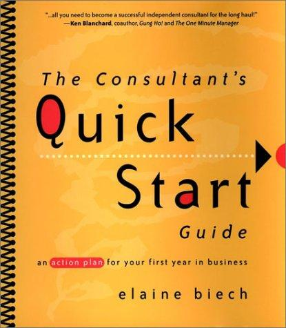 The Consultant's Quick Start Guide