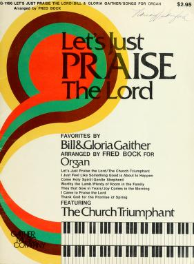 Cover of: Let's just praise the Lord | Fred Bock