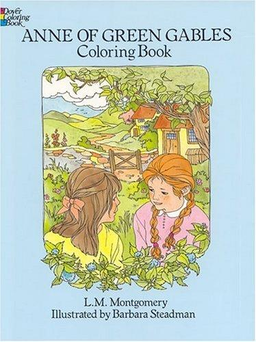 Anne of Green Gables Coloring Book by L. M. Montgomery