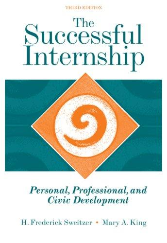 The successful internship by