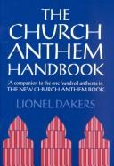 The church anthem handbook by Lionel Dakers
