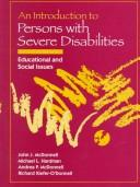 Introduction to Persons with Severe Disabilities, An by John J. McDonnell