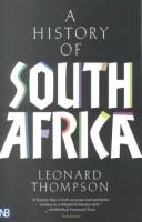 A history of South Africa by Leonard Monteath Thompson