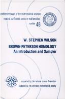 Brown-Peterson homology by W. Stephen Wilson