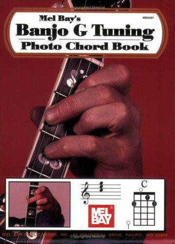Mel Bay Banjo G Tuning Photo Chord Book by William Bay