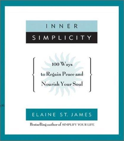 Inner simplicity by Elaine St James