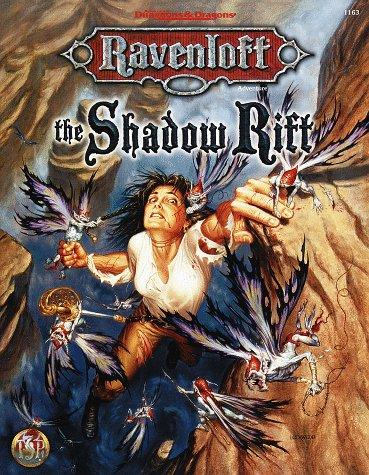 The Shadow Rift (AD&D Horror Roleplaying, Ravenloft) by William W. Connors