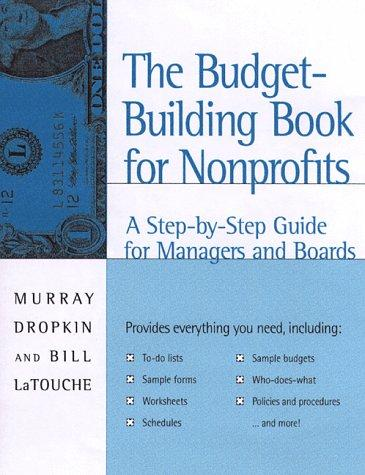 The budget-building book for nonprofits